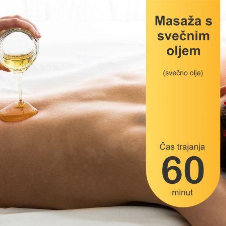 Masaža s svečnim oljem - 60 minut