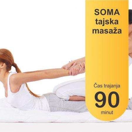 SOMA tajska masaža - 90 minut