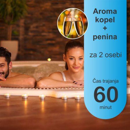 Aroma kopel -2 osebi - 60 minut - penina