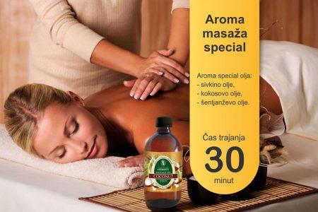 Aroma masaža special - 30 minut
