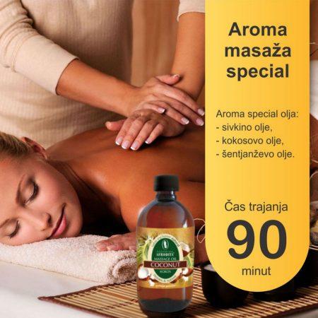 Aroma masaža special - 90 minut