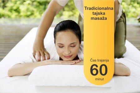 Tradicionalna tajska masaža - 60 minut