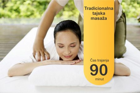 Tradicionalna tajska masaža - 90 minut